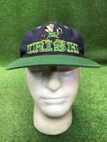 Vintage Notre Dame Fight Irish Twins Enterprises 90s Snapback Hat Cap Rare Desig