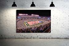 Met Life Stadium Canvas print NY Jets Football Field 36 x 24 Panoramic view