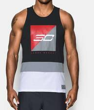 Under Armour Steph Curry Sc30 Splash Tank Top Fitted Sleeveless Shirt -Large