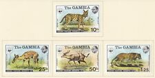 Gambia 1976 Abuko Nature Reserve (Set of 4)  Mint Lightly hinged SG356/9 (N51)