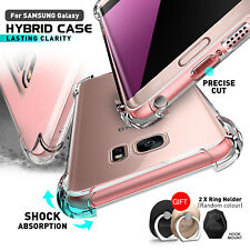 Galaxy Note 9 S9 Plus S8 S7 Edge Shockproof Case Cover Hybrid Clear for Samsung