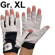 S XL neu 1 Paar Segelhandschuhe Leder Handschuhe 5 Finger frei  Gr