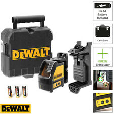 DEWALT DW088CG Green Cross Line Livello Laser Self Livellamento – Include staffa