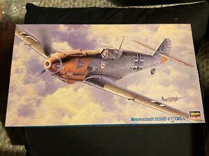 Hasegawa 1/48 Messerschmitt bf109e-4/7 'emil' 4/7