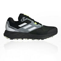 adidas Mens Terrex Two Flow Trail Running Shoes Trainers Sneakers Black Sports