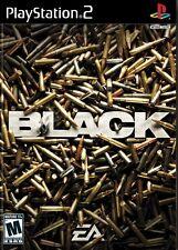 Black - Playstation 2 Game Complete