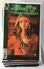 Dealer's Lot of 37 Buffy The Vampire Slayer tv show comics