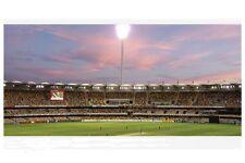 The 'Gabba'  Brisbane 2010 1st view night cricket modern Digital Photo Postcard