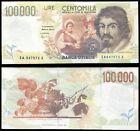 [00005] REPUBBLICA ITALIANA - 100000 LIRE CARAVAGGIO 2° TIPO - FALSO D'EPOCA