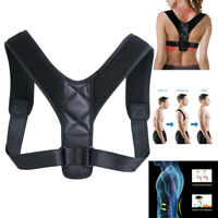 Adjustable Posture Corrector Back Shoulder Support Correct Brace Belt Men Women