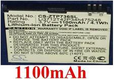 Batterie 1100mAh type Li3712T42P34h475248 Pour ZTE ORANGE Blade S