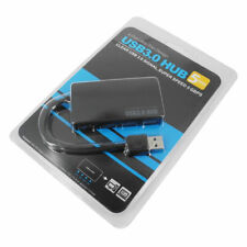 4-Port USB 3.0 Portable Compact Hub Adapter USB Type A Female for Laptop