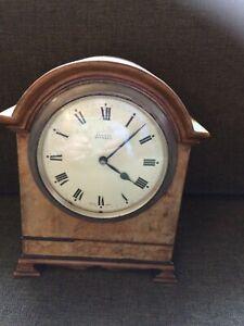 Edward Glasgow Victorian Mantel Clock Swiss Zenith Movement