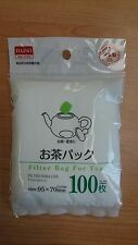 Refill Tea Floral Herb Fruit Filter Bag x 100