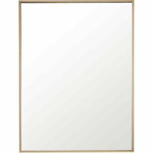 Elegant Lighting MR4072BR Eternity 32 X 24 inch Brass Wall Mirror