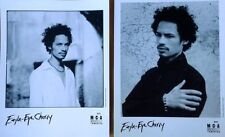 """Eagle Eye Cherry - (2) Press Photos - 8"""" X 10"""" Black & White - 2001"""