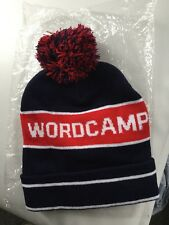 Wordcamp US 2015 Navy/red Bobble Hat New In Pack