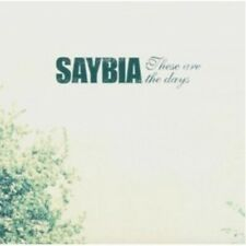 SAYBIA - THESE ARE THE DAYS  CD  12 TRACKS CLASSIC ROCK/POP/ALTERNATIVE NEU