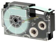 NASTRO COMPATIBILE CASIO XR-9YW1 - 9mm X 8mt - NERO SU GIALLO