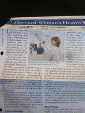 HARVARD MEDICAL SCHOOL HARVARD WOMEN'S HEALTH WATCH NEWSLETTER JUNE 2019 NEW