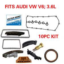 TIMING CHAIN KIT 10PCS FITS 3.6L AUDI Q7 VW PASSAT TOUAREG
