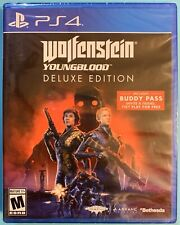 Wolfenstein Youngblood Deluxe Edition includes Buddy Pass (PS4 / Playstation 4)