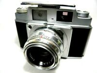 AGFA AMBI SILETTE OBJEKTIV COLOR SOLINAR 2,8 50 MM TOP ZUSTAND TESTED WITH FILM!