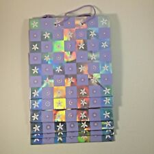 Hallmark Gift Bags All Occasion Lot of 6 10.5 x 10.5 x 4 7/8