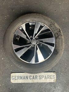 "2018 VW POLO 1.0 SE AW1 CHYC SND 5DR DIAMOND CUT 15"" ALLOY WHEEL & TYRE BREAKING"