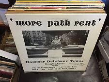 Douglas Ecker More Path Rent Hammer Dulcimer Tunes vinyl LP EX SIGNED