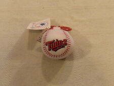 Baseball Minnesota Twins MLB Plush Unisex Infant Baby Rattle Stained NWT