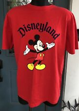 Vintage w/ Tags ca.1990's DISNEYLAND w/ Mickey Mouse Size XL Made in USA T-SHIRT