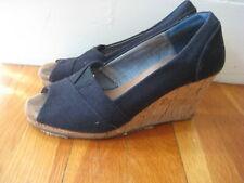 b5a44e60bca Black Tom's Wedge Heels for Women for sale | eBay