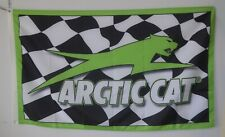 Arctic Cat Racing 3x5ft Flag Banner US seller