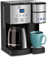 Cuisinart Coffee Center Coffee Maker/Single Serve Brewer in Stainless Steel