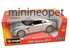 BBURAGO 18-12079 2009 09 NISSAN SKYLINE GT-R GTR R35 1/18 SILVER