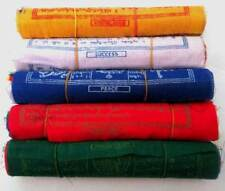 Tibetan Prayer Flags ~ 5 ROLLS SET (5 inch) ~ HIGH QUALITY ~ Made in Nepal