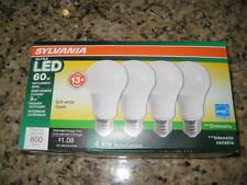 Sylvania 60W Equivalent Soft White Dimmable LED Light Bulb (4 Bulbs)
