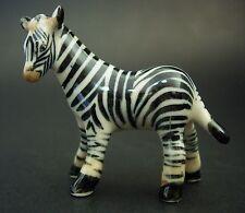 Ceramic ZEBRA Curio Display Ornament China Porcelain Animal African Savannah