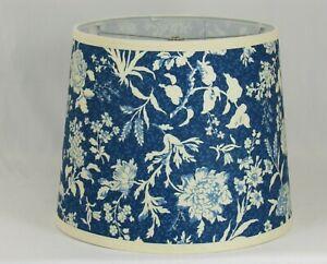 Albert Estate LTD, Floral Pattern on Blue Shade,14 Washer