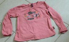 """5205 - T-shirt ML 5 ans SERGENT MAJOR saumon """"mots magiques"""""""