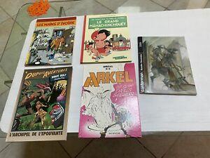 Lot Bd Anciennes Edition Dupuis Fleurus Milan Casterman