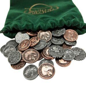 TAVERN CHANGE RPG COIN STARTER SET fantasy tabletop metal tokens Campaign Coins