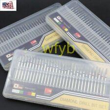 30pcs/set Pro Nail Art Electric File Drill Bits Pedicure Manicure Kit Tool Us