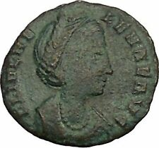 Helena ' Saint ' Constantine the Great Mother  Ancient Coin Peace Cult i52812