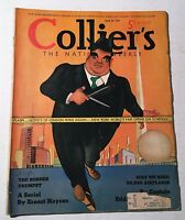 Vintage Collier's Magazine April 29 1939 Back Issue New York World's Fair Cover