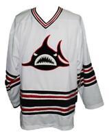 Any Name Number Los Angeles Sharks Retro Custom Hockey 1973 Jersey White
