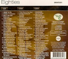 COFFRET 3 CD 54T EIGHTIES 80's NEUF SCELLE IMAGINATION/TAVARES/LIMAHL/ODYSSEY/