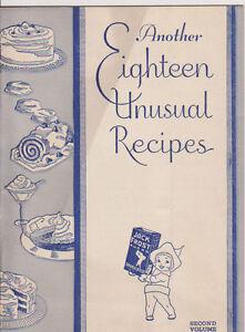 #MISC-0017 - 1933 1934 CHICAGO WORLDS FAIR COOK BOOK - JACK FROST SUGAR