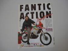 advertising Pubblicità 1989 MOTO FANTIC OASIS 50